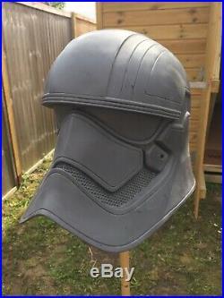 Star Wars 11 Captain Phasma Stormtrooper Helmet Prop Replica (Raw Cast)