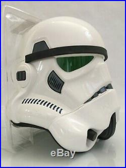 Star Wars 11 EFX STORMTROOPER HELMET Prop Mandalorian Master Replicas Anovos