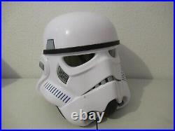 Star Wars 2016 black series electronic Stormtrooper Helmet NICE WORKS