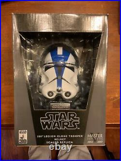 Star Wars 501st Legion Clone Trooper Helmet Scaled Replica Master Replicas