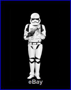 Star Wars 7 Stormtrooper Cosplay Helmet ABS Replica Collection Adult Prop white