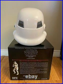 Star Wars A New Hope Stormtrooper Helmet - Official Prop Replica - by EFX