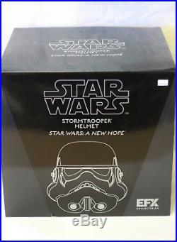 Star Wars ANH Stormtrooper Helmet EFX Collectibles