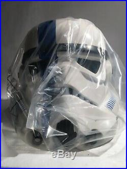 Star Wars ANOVOS 11 STORMTROOPER COMMANDER Helmet Mandalorian Darth Vader EFX