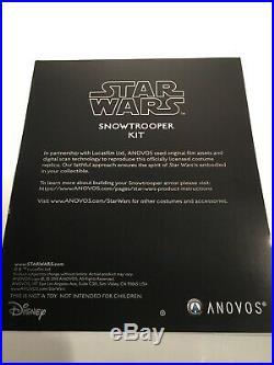 Star Wars ANOVOS SNOWTROOPER ARMOR KIT Life Size Prop Stormtrooper EFX Helmet MR