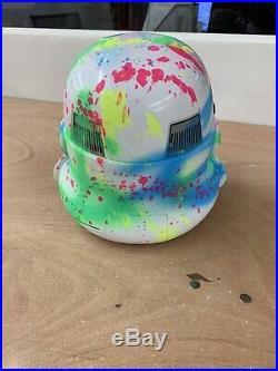 Star Wars Alec Monopoly Replica Stormtrooper Electronic Voice Changer Helmet
