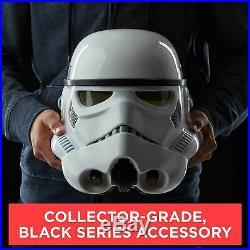 Star Wars B7097 Black Series Imperial Stormtrooper Elec Voice Changer Helmet New