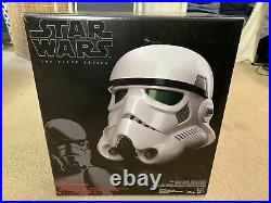 Star Wars B7097 Black Series Imperial Stormtrooper Electronic with Voice Changer