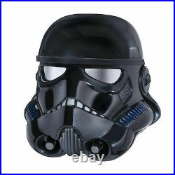 Star Wars Battlefront Shadow Trooper Black Series Voice Changer Helmet Brand New