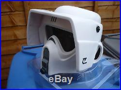 Star Wars Biker Scout Stormtrooper Helmet Prop ROTJ official Rubies 11