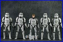 Star Wars Black Series 6 LOT X4 STORMTROOPERS X1 Luke S Stormtrooper Disguise