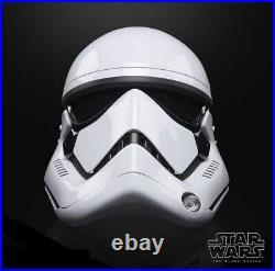 Star Wars Black Series First Order Stormtrooper Premium Electronic Helmet PREORD
