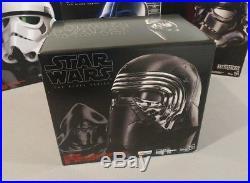 Star Wars Black Series Helmet Kylo Ren Darth Vader Shadow & Storm Trooper