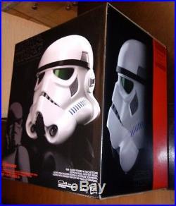 Star Wars Black Series Imperial Stormtrooper Electronic Voice Changer HelmetNEW