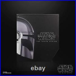 Star Wars Black Series Mandalorian Helmet Premium Electronic Prop Replica