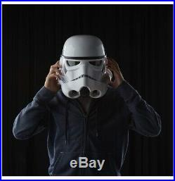 Star Wars Black Series STORMTROOPER ELECTRONIC VOICE CHANGER HELMET COSPLAY