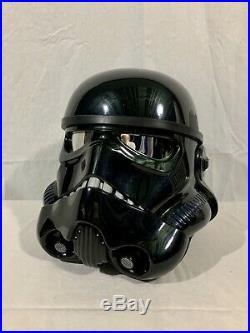 Star Wars Black Series Shadow Trooper Stormtrooper Electronic Helmet