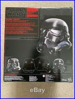 Star Wars Black Series Shadow Trooper Stormtrooper Electronic Helmet Amazon Ex