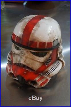 Star Wars Black Series Stormtrooper Helmet Customised Battlefront Shocktrooper
