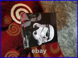 Star Wars Black Series Stormtrooper Helmet! Voice Changer -Sealed In Box! B7097