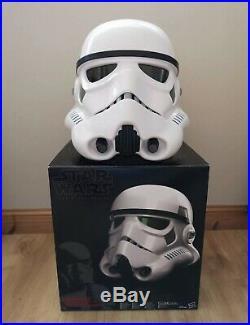 Star Wars Black Series Stormtrooper Helmet WITH STAND