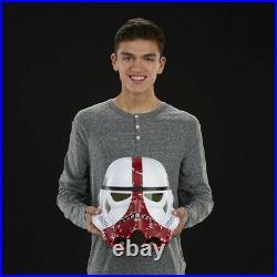 Star Wars Black Series casque électronique Incinerator Stormtrooper Helmet 46630