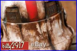 Star Wars Black Series stormtrooper Incinerator Electronic Helmet Custom Paint