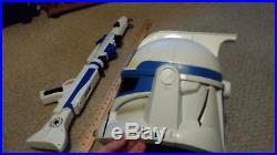 Star Wars Build your own Blaster & Clone Storm Trooper Helmet Mask Gun Sound Toy