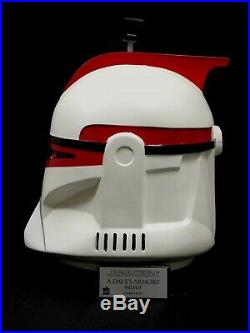 Star Wars Captain ARC Fordo Clonetrooper Helmet 11 Vader Stormtrooper Prop