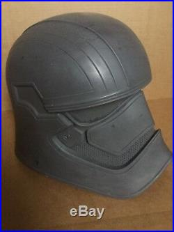 Star Wars Captain Phasma Stormtrooper Helmet Prop (Raw Cast)