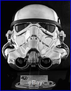 Star Wars Celebration 40th Anniversary Commemorative Stormtrooper Helmet