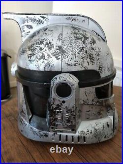 Star Wars Clone Trooper Voice Changing Helmet Stormtrooper working perfectly