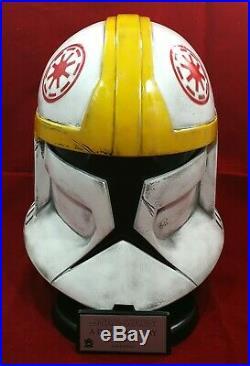 Star Wars Clonetrooper Pilot Helmet 11 Vader Stormtrooper Clone Wars Prop