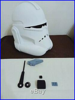 Star Wars Commander Wolffe Clone Trooper Helmet 11 Scale No Stormtrooper