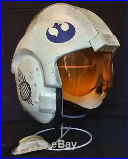 Star Wars E. S. B Dak Ralter Weathered X-Wing Helmet 11 Costume / Prop