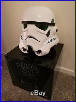 Star Wars EFX Collectibles Life Size 11 Scale Stormtrooper Helmet Prop Replica