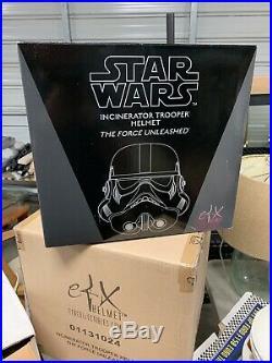 Star Wars EFX Incenerator Stormtrooper Helmet
