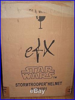 Star Wars EFX LE Stormtrooper 11 Helmet Low # 15 of 500 Not Master Replicas