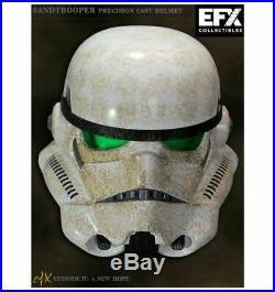 Star Wars EFX SANDTROOPER Helmet 11 Star Wars Mandalorian Anovos Master Replica