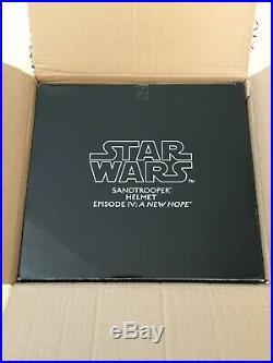 Star Wars EFX SANDTROOPER Helmet Life Size Prop- Mandalorian Stormtrooper Anovos