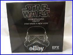 Star Wars EFX Stormtrooper Helmet Replica A New Hope COLLECTIBLE COA
