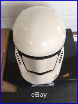 Star Wars Episode 7/8 First Order Stormtrooper Helmet Prop Replica Anovos 11