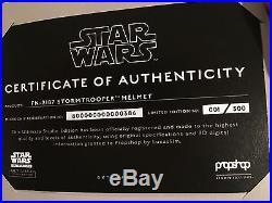 Star Wars FINN FN-2187 Stormtrooper Helmet Ultimate Studio Edition SOLD OUT #1/