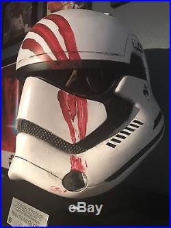 Star Wars Finn First Order Stormtrooper Helmet Replica MINT Not Master Replicas