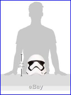 Star Wars First Order Stormtrooper HELMET, The Force Awakens Lightweight HELMET