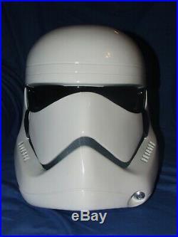 Star Wars Force Awakens Stormtrooper Helmet Fibreglass 1-1 Wearable Prop