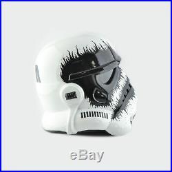 Star Wars Imperial Stormtrooper Black Metal Helmet