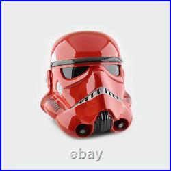 Star Wars Imperial Stormtrooper Crimson Helmet
