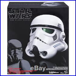Star Wars Imperial Stormtrooper Electronic Voice Changer Full Helmet Black Serie
