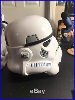 Star Wars Imperial Stormtrooper Electronic Voice Changer Helmet & Blaster